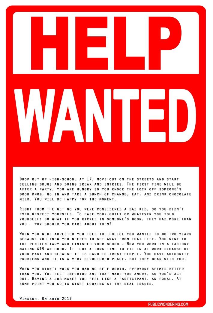 HelpWantedB&E